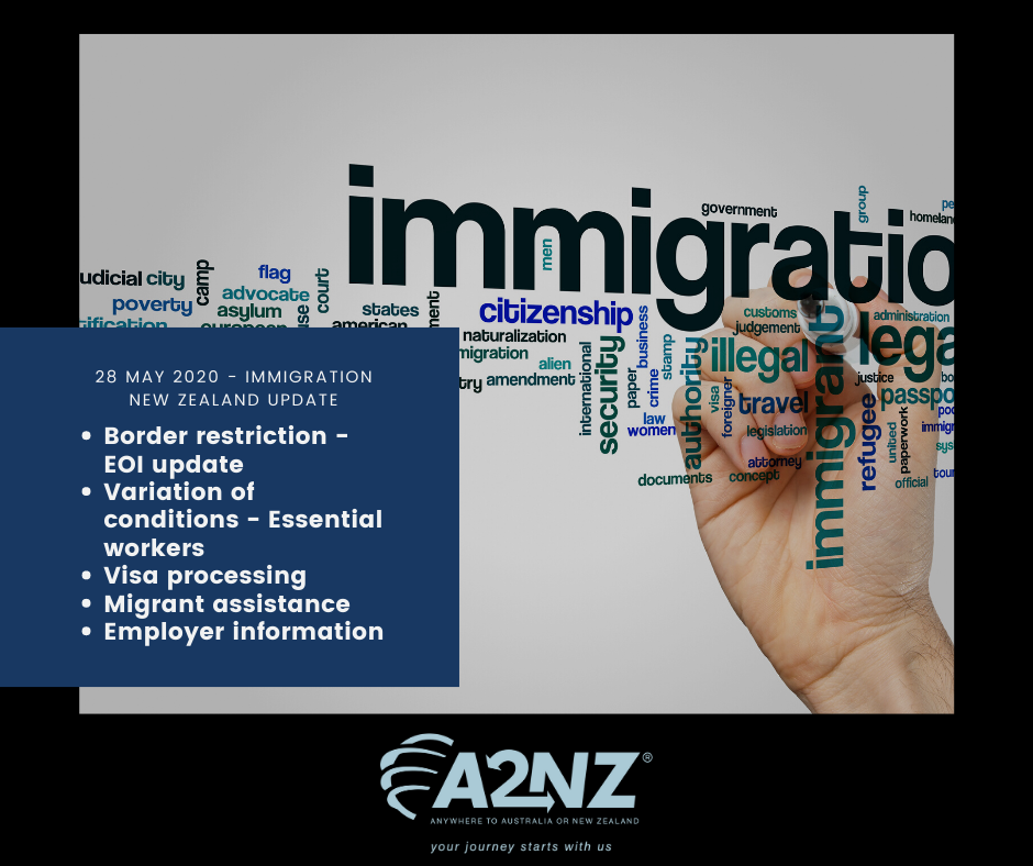 Immigration New Zealand Update